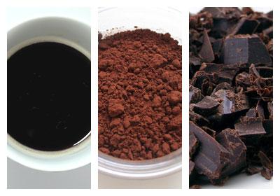 Kávové palačinky s kávovou polevou