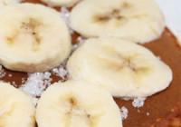 Náhled palačinky s banánem a kokosem
