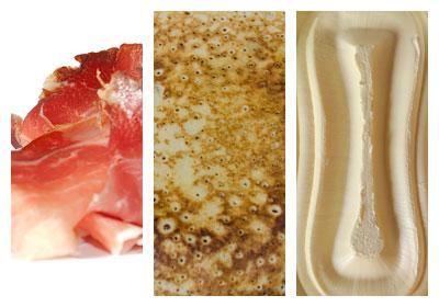 Plátky slaniny v palačinkovém županu