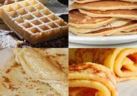 Náhled wafle, lívance, crepes nebo palačinky