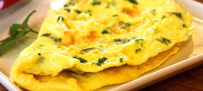 Palačinka není omeleta
