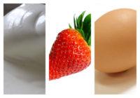 Palačinky z krémového sýra s jahodami